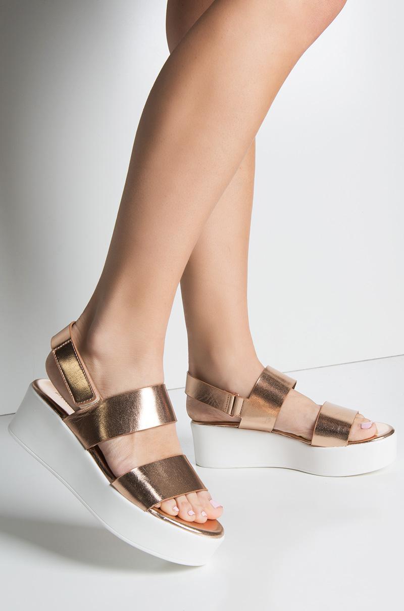 96ae899696d AKIRA Cher Is That You Platform Sandal - Lyst