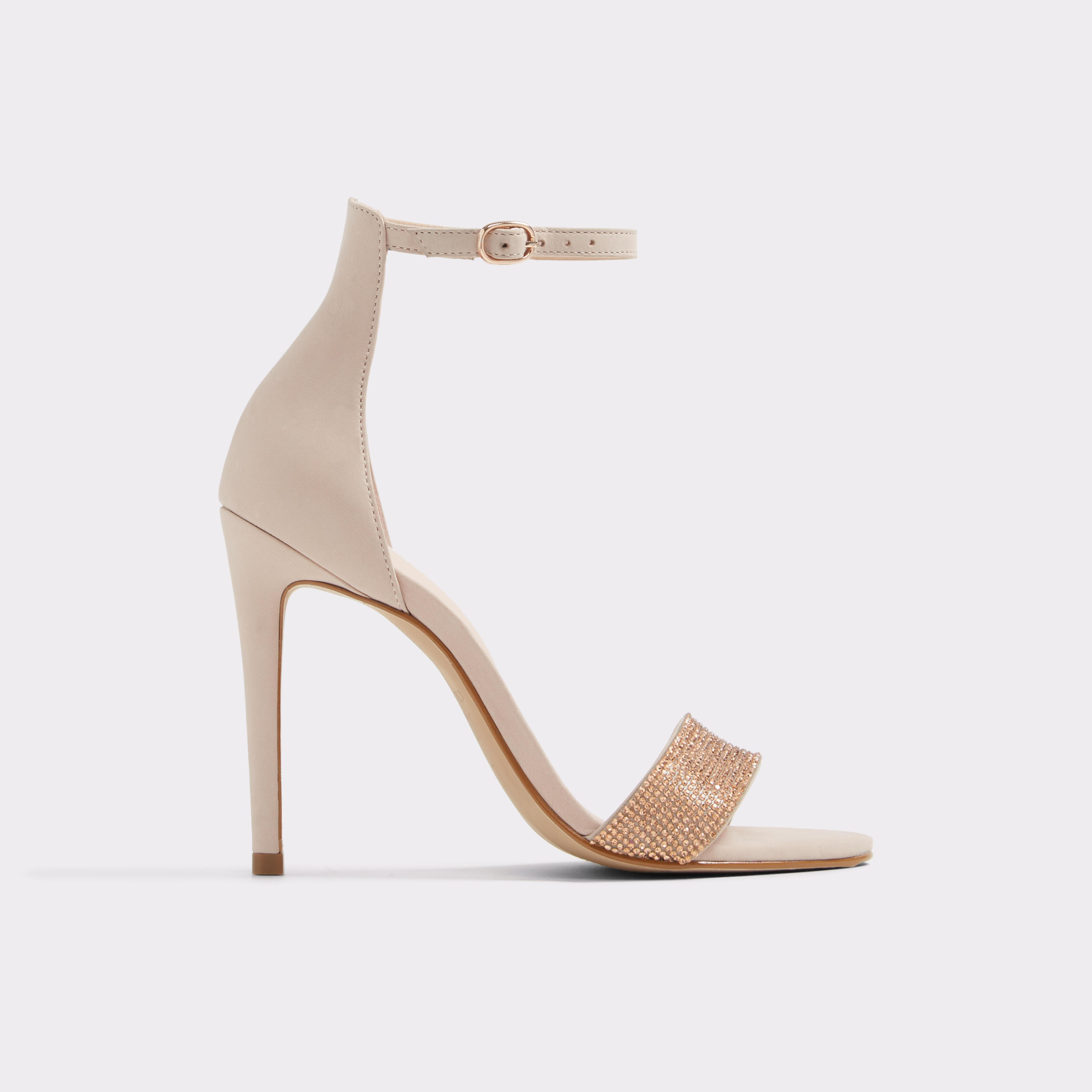 f08f94adaa3 ALDO Kedurith High Heel Sandals in Pink - Lyst