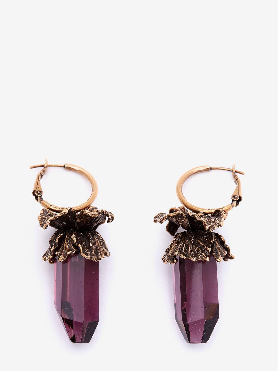 Limited Edition Cheap Online Iris pendant earrings Alexander McQueen Shop Offer Cheap Online Buy Cheap Fake Cheap Sale Pictures Cheap Amazon LhsdhdQU4