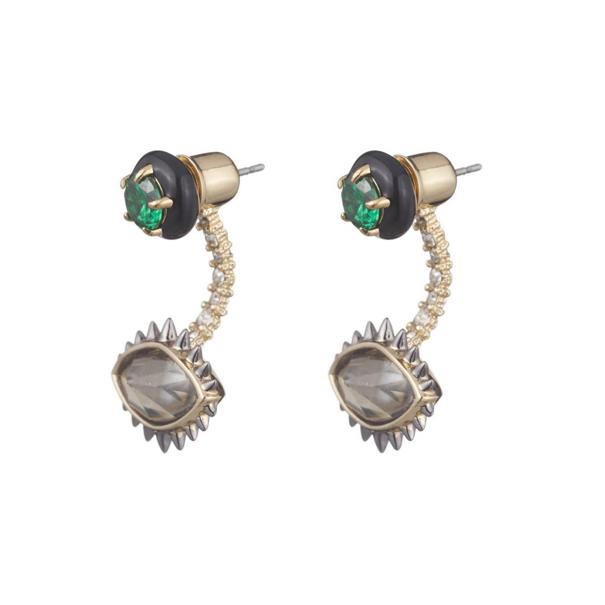 Lyst Alexis Bittar Enamel Framed Stud Earring With