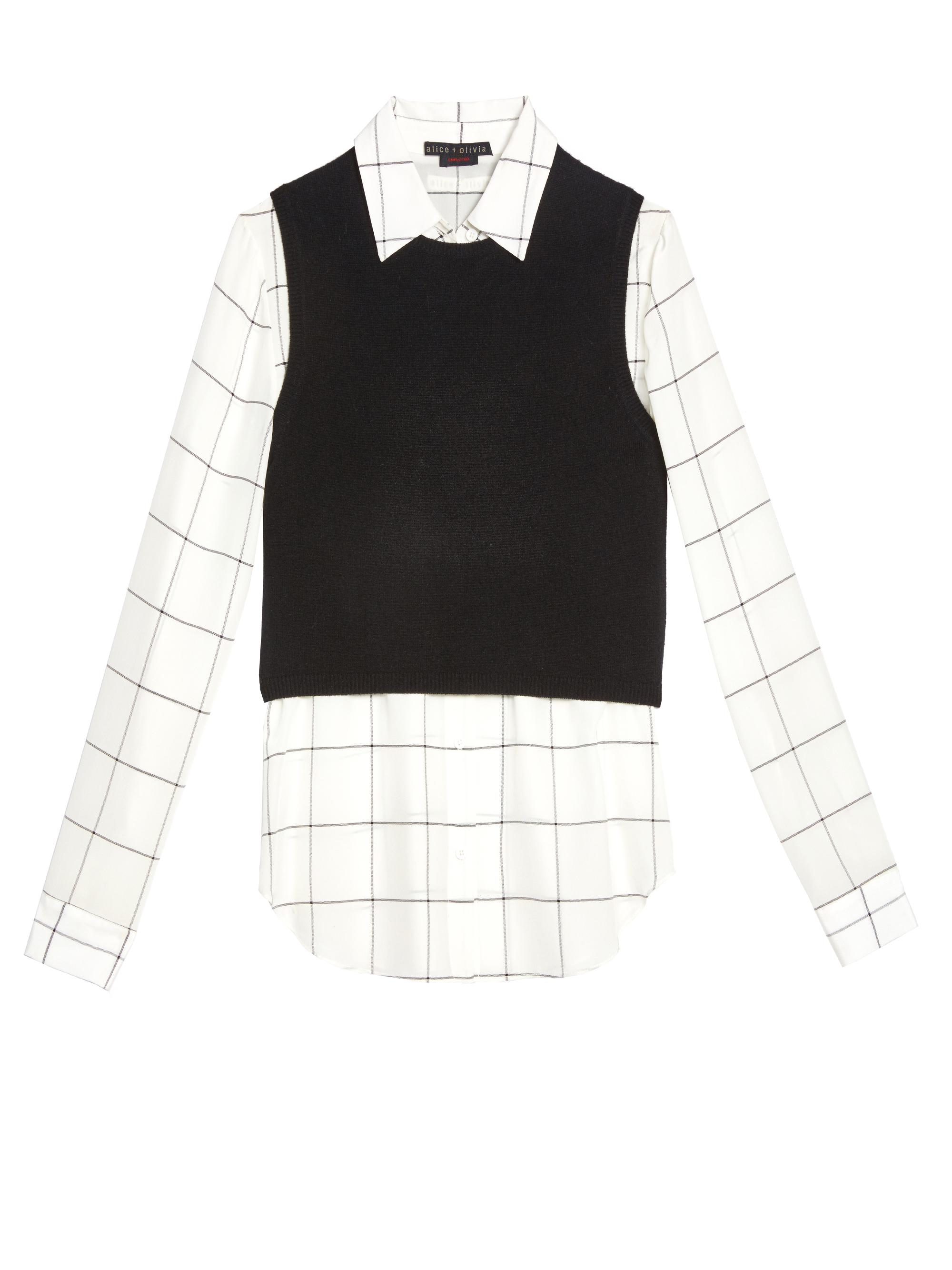 Black Cropped Sweater Vest - Best Sweater 2017