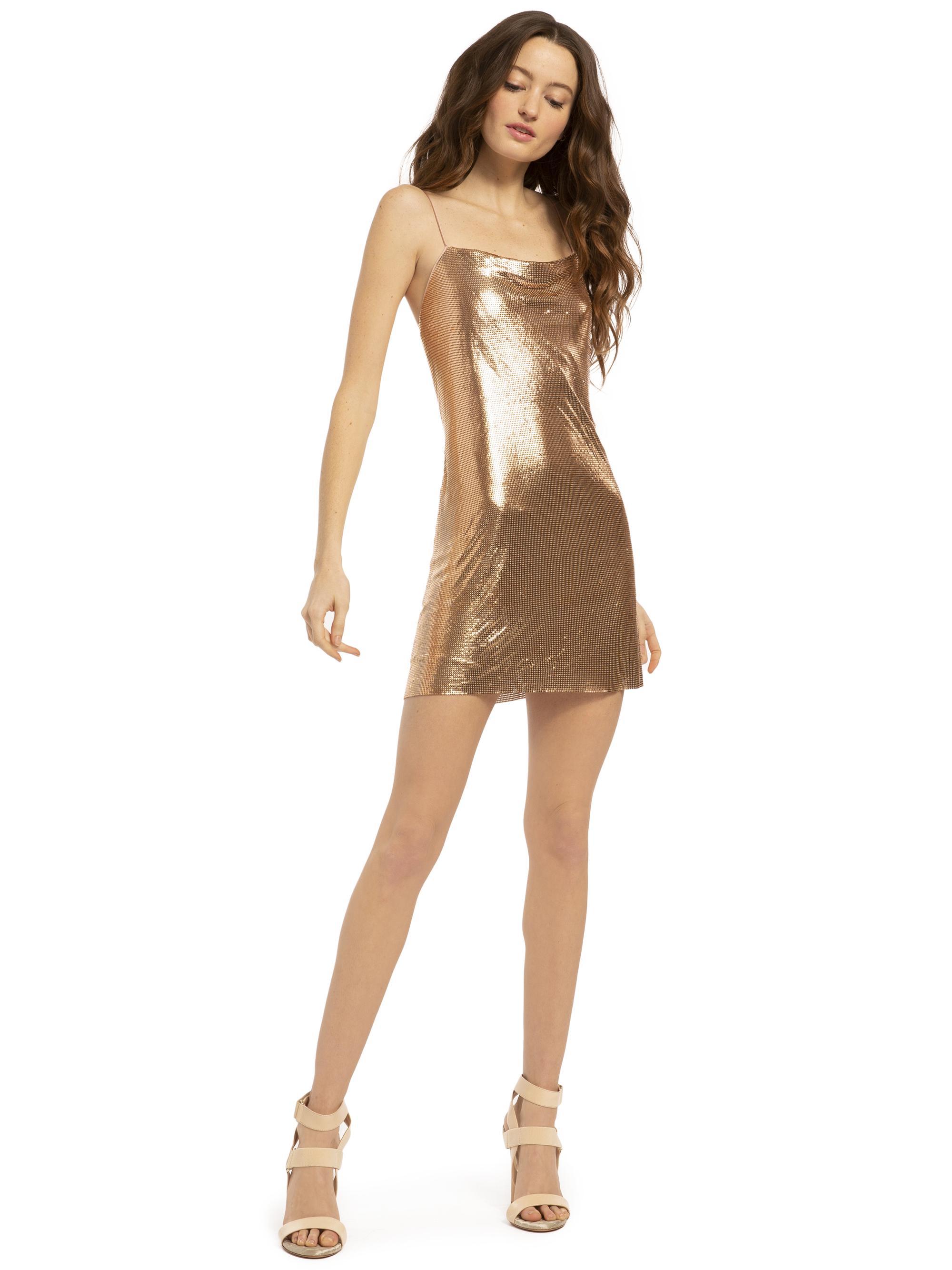 20cd5b3ddd8 Alice + Olivia. Women s Harmony Chainmail Mini Dress