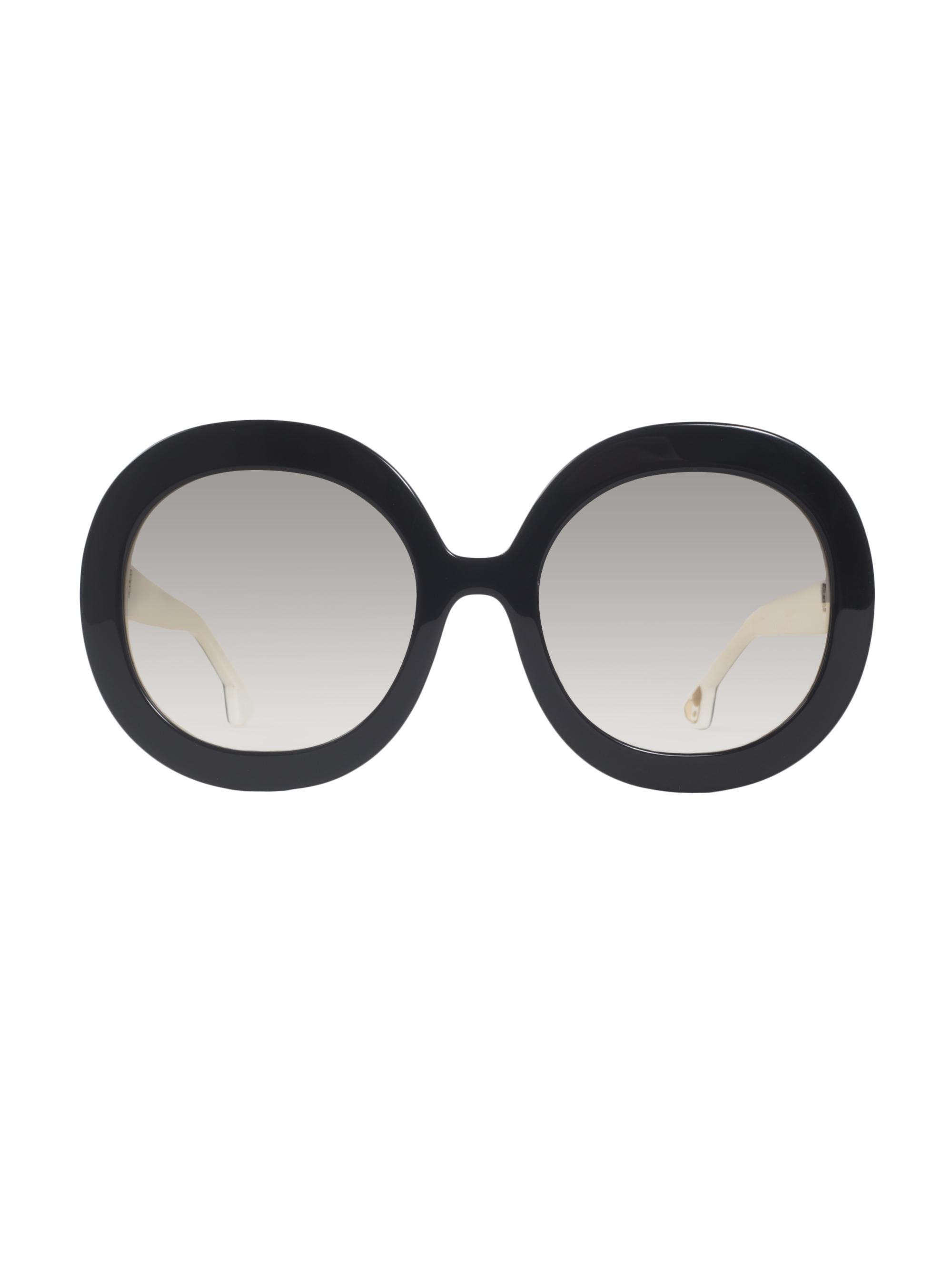 795c234ac9 Alice + Olivia Melrose Sunglasses in Black - Lyst