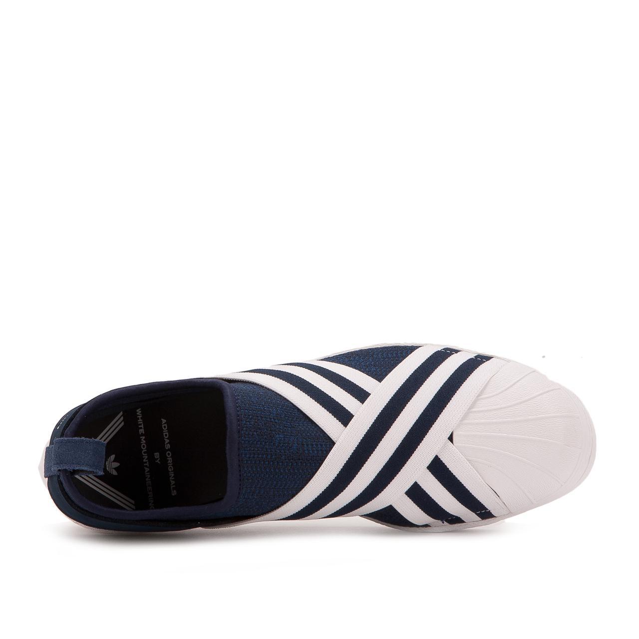d14190c35c49 Adidas - Blue White Mountaineering Superstar Slip On for Men - Lyst. View  fullscreen