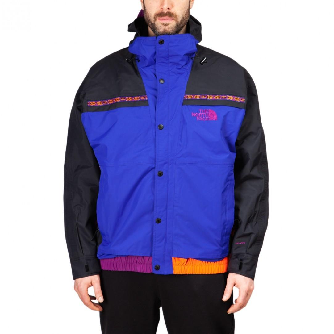 The North Face 92 Rage Retro Rain Jacket In Aztec Blue in Blue for ... cc97be80dcf7