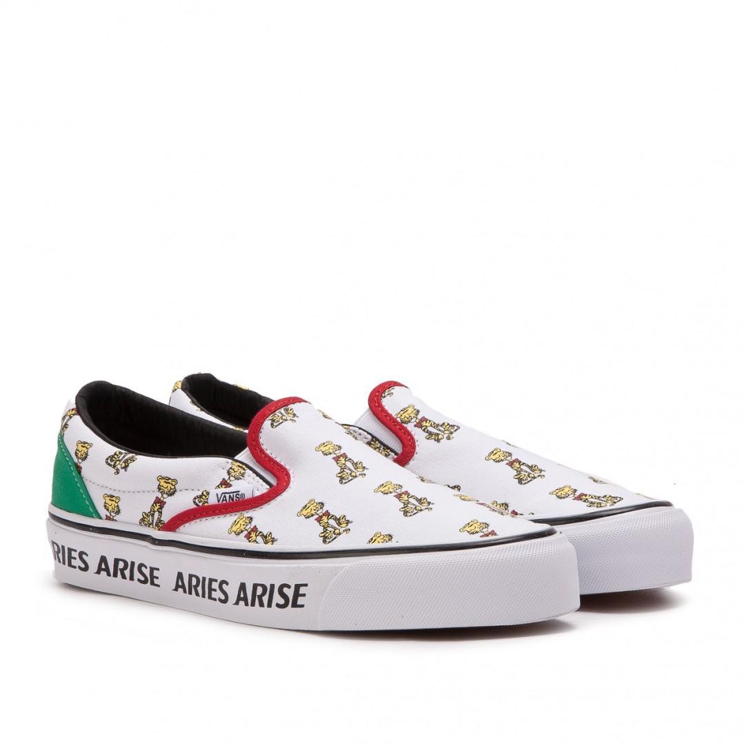 99adf0769616 Lyst - Vans X Aries Og Classic Slip-on in White for Men