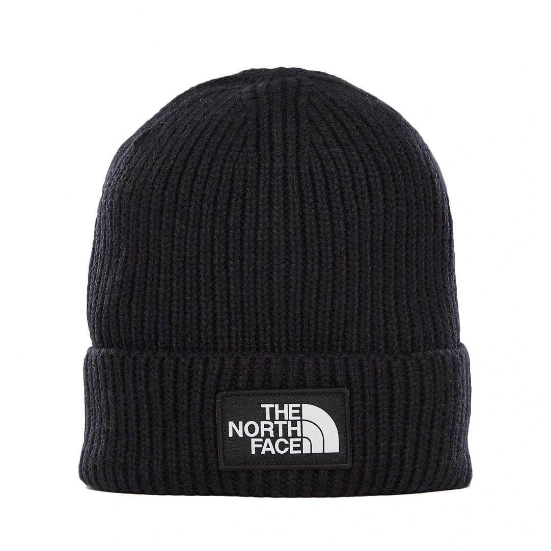 f98998e9250 The North Face Tnf Logo Box Cuffed Beanie in Black for Men - Lyst