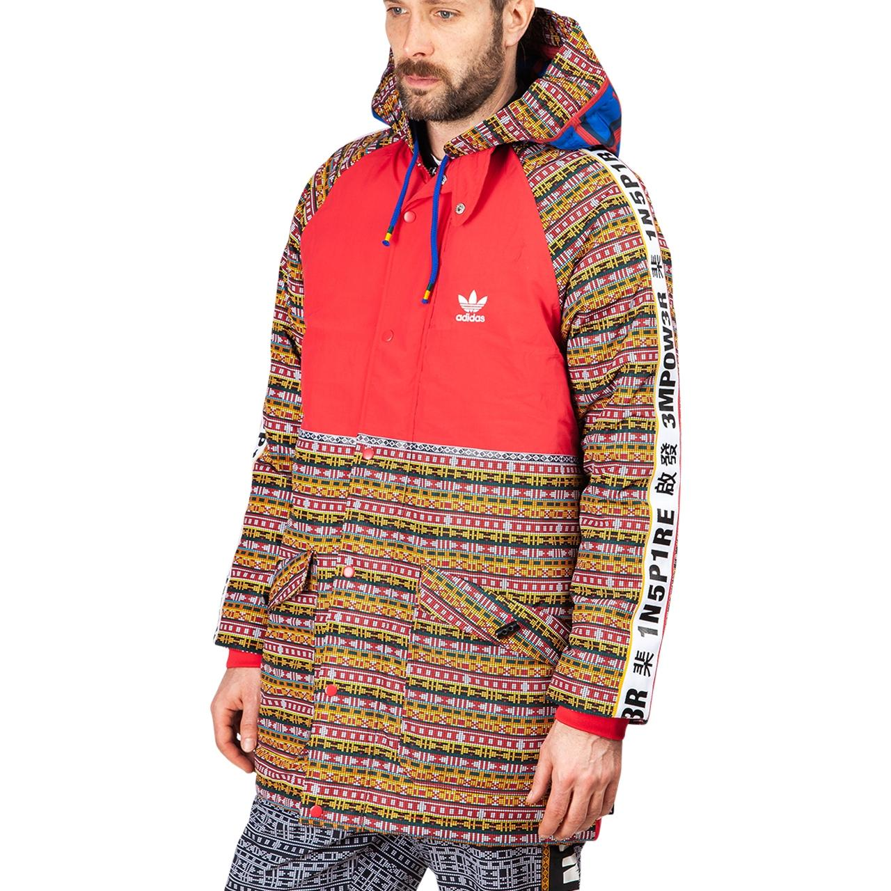 2a4d0f63c Adidas Originals - Red Williams Solar Hu Padded Jacket for Men - Lyst. View  fullscreen