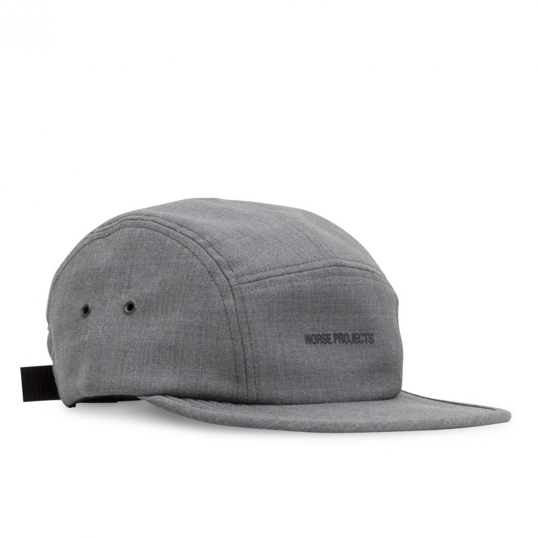 f5545fb9de1 ... czech norse projects. mens gray light wool foldable 5 panel cap c4aee  ada93 ...