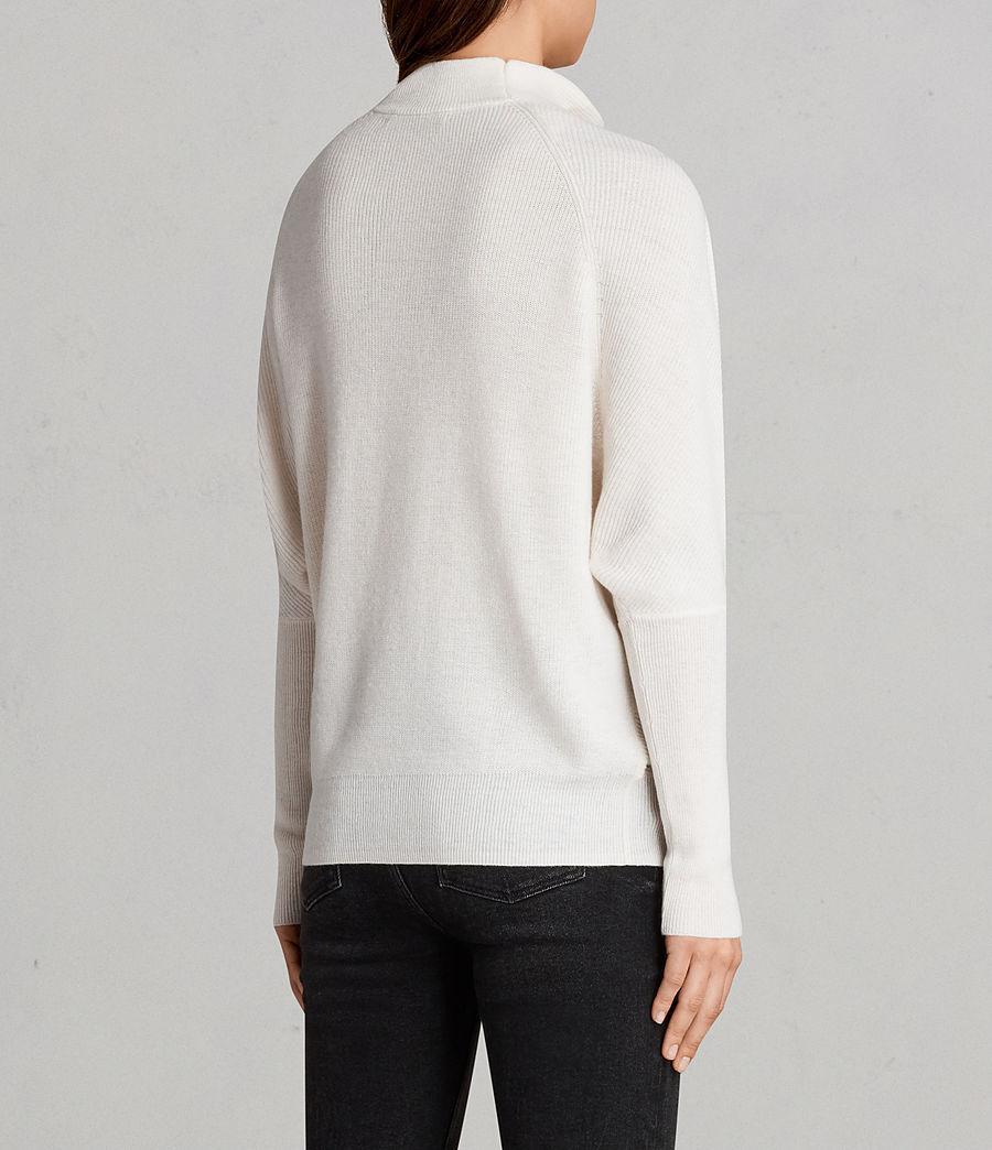 Lyst Allsaints Ridley Jumper In White
