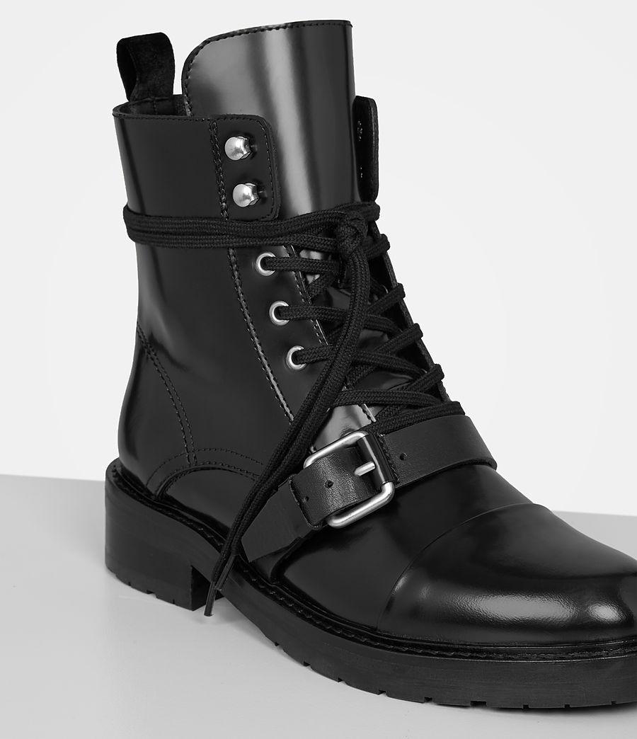 Lyst Allsaints Donita Boot In Black