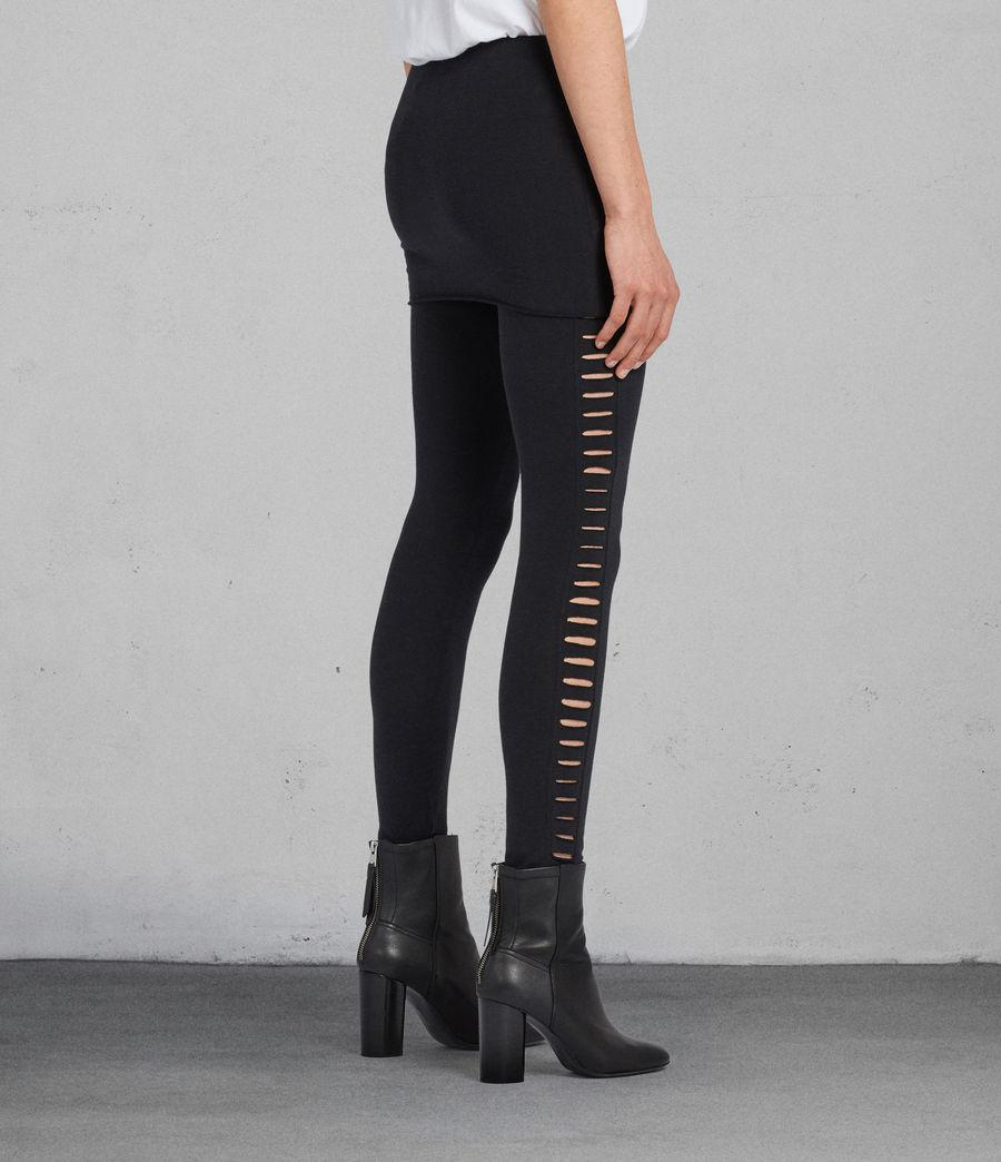 AllSaints Raffi Slash Legging Clearance Discount Best Store To Get New Cheap Price Discount Visa Payment Online Cheap Price b2jF2Ifd