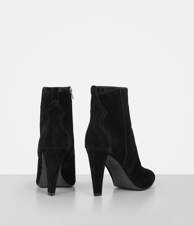 clearance limited edition AllSaints Leather & Suede Booties websites cheap online EGjSLn