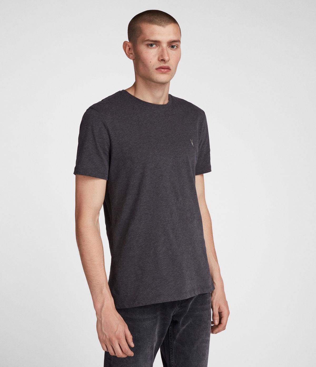 d5174c369 Lyst - Allsaints Brace Tonic Crew T-shirt in Gray for Men