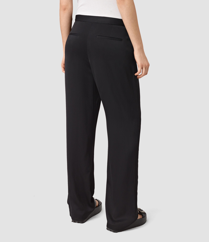 fe5c314c837 Lyst - AllSaints Ivana Trouser in Black
