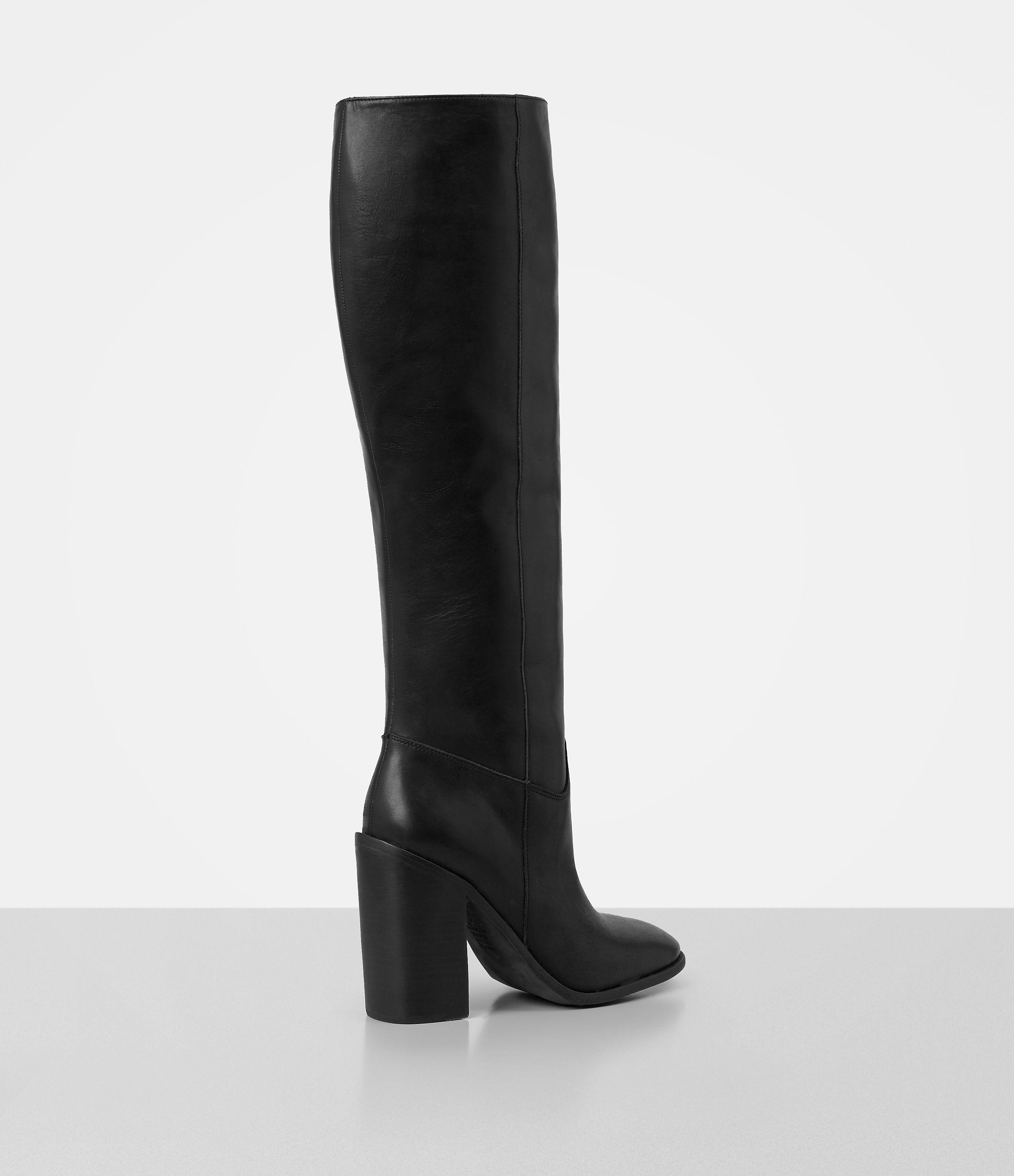 AllSaints Leather Knee-High Boots top quality cheap price big discount cheap price kfizk