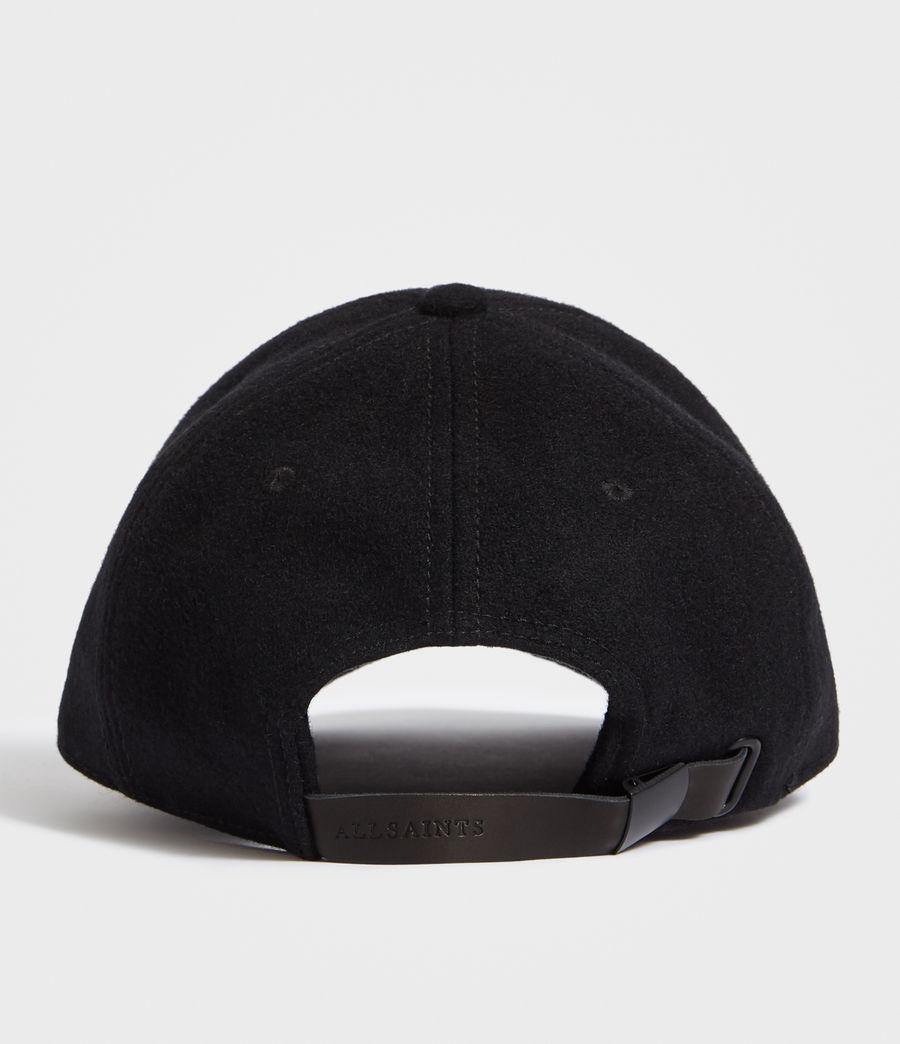 Lyst - AllSaints Baseball Cap in Black for Men 3afc49a8445