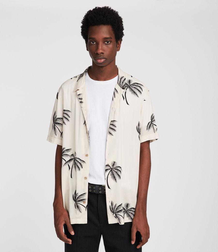 f2dd11df AllSaints Offshore Hawaiian Shirt for Men - Lyst