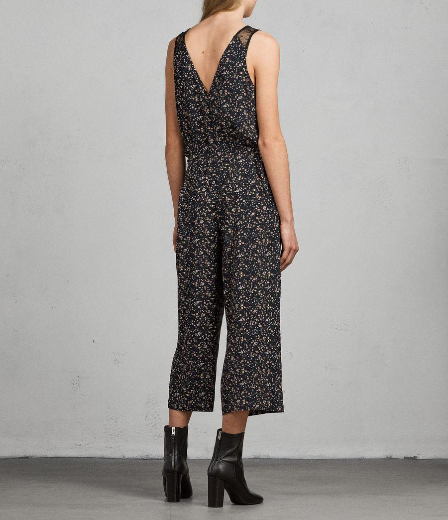 61c8f36518c Lyst - AllSaints Cate Pepper Jumpsuit in Black