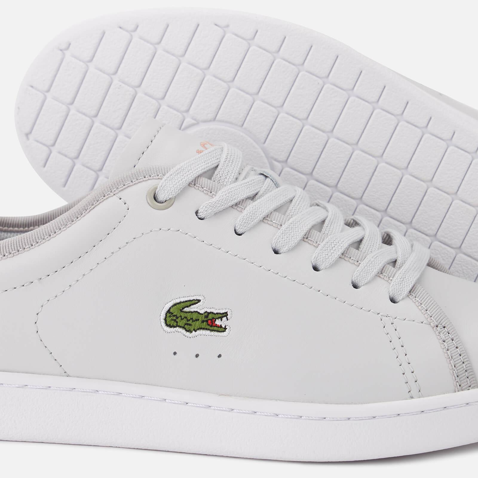 13db4431f0981d Lacoste - Gray Carnaby Evo 318 6 Leather Trainers - Lyst. View fullscreen