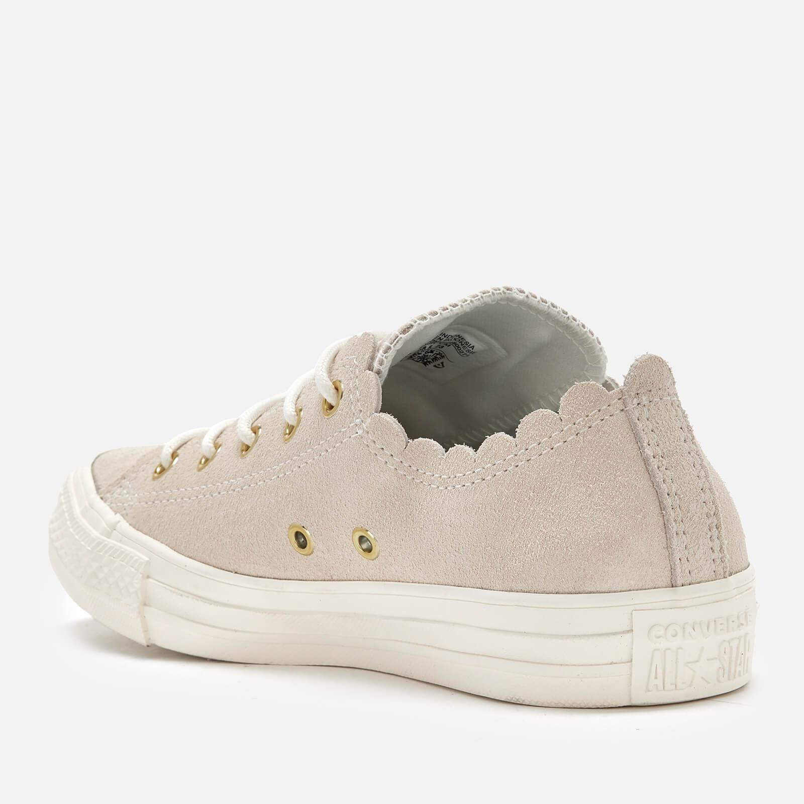 9fa79597985d Converse - Multicolor Chuck Taylor All Star Scalloped Edge Ox Trainers -  Lyst. View fullscreen