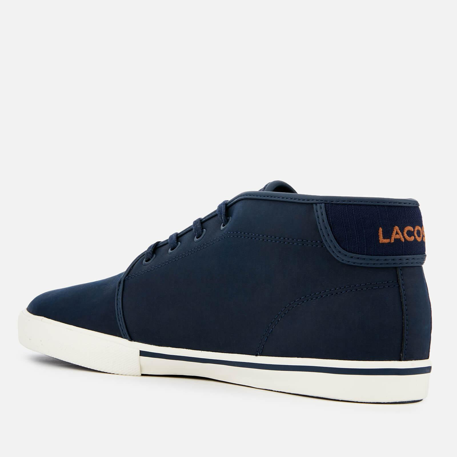 53fce98daee92 Lacoste - Blue Ampthill 119 1 Leather Chukka Trainers for Men - Lyst. View  fullscreen