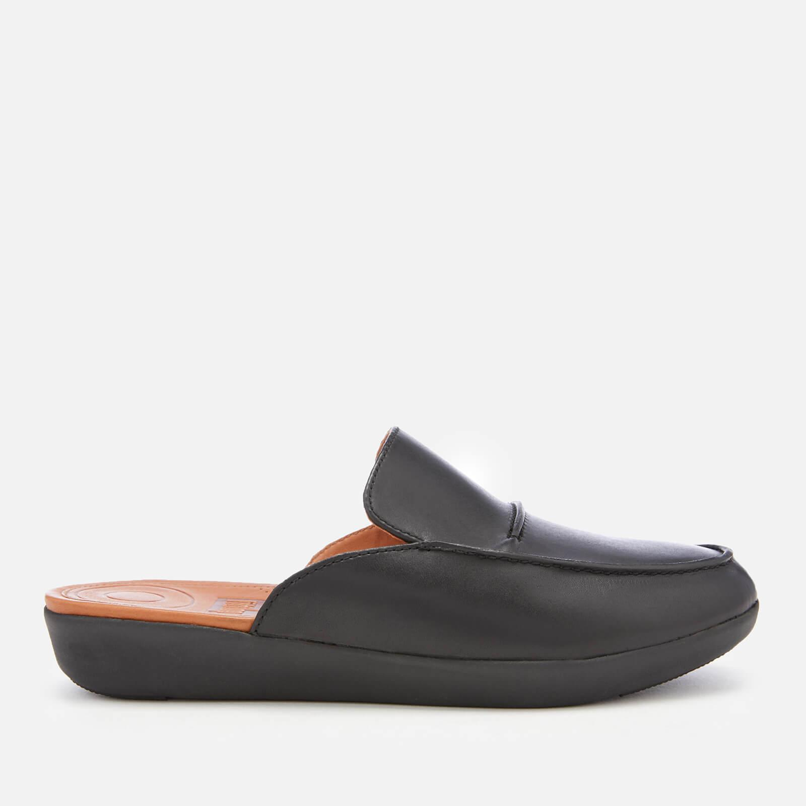 fc6c97a1fe5b7 Fitflop Serene Leather Mules in Black - Save 52% - Lyst