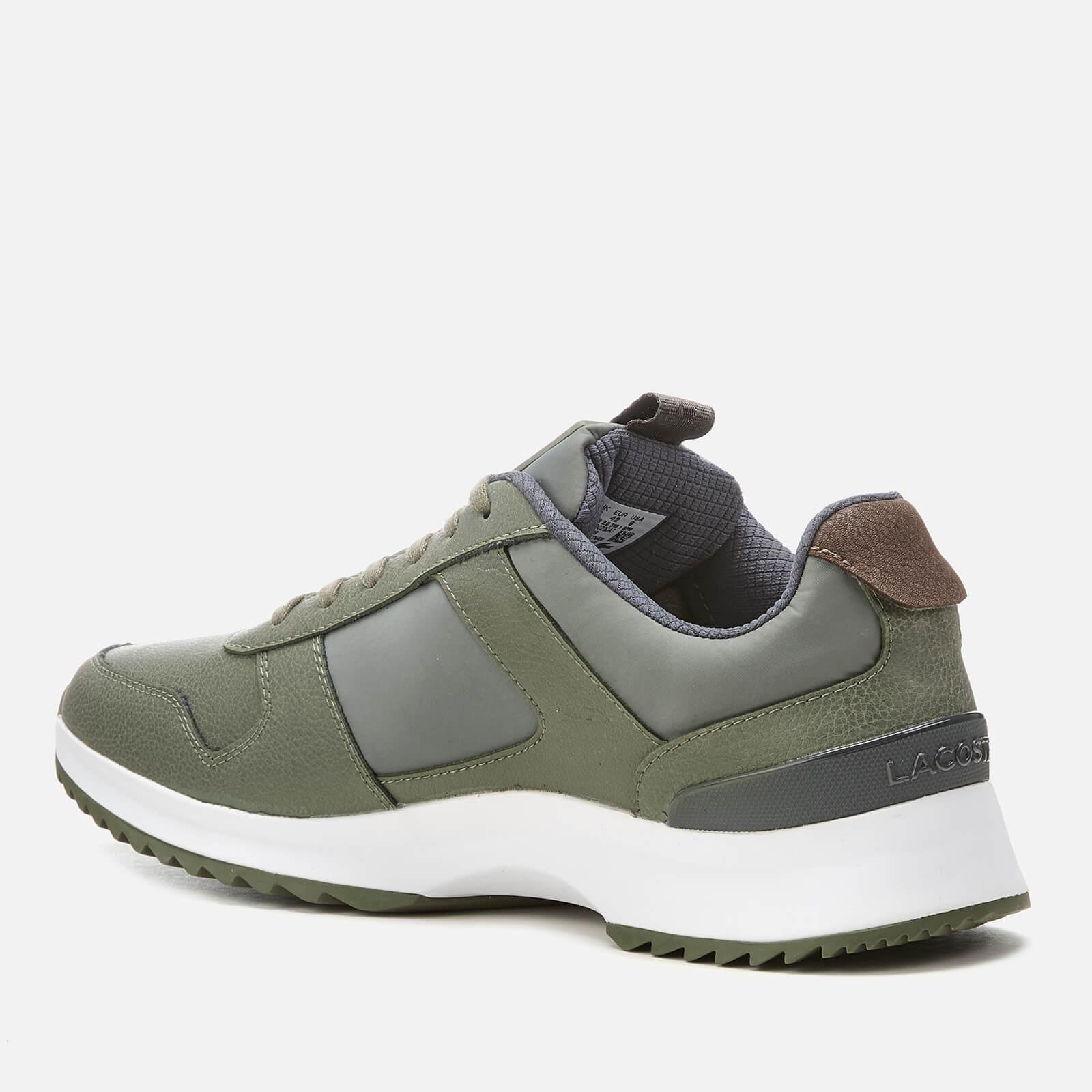 e2ce239454653 Lacoste - Green Joggeur 2.0 318 1 Textile leather Runner Style Trainers for  Men -. View fullscreen