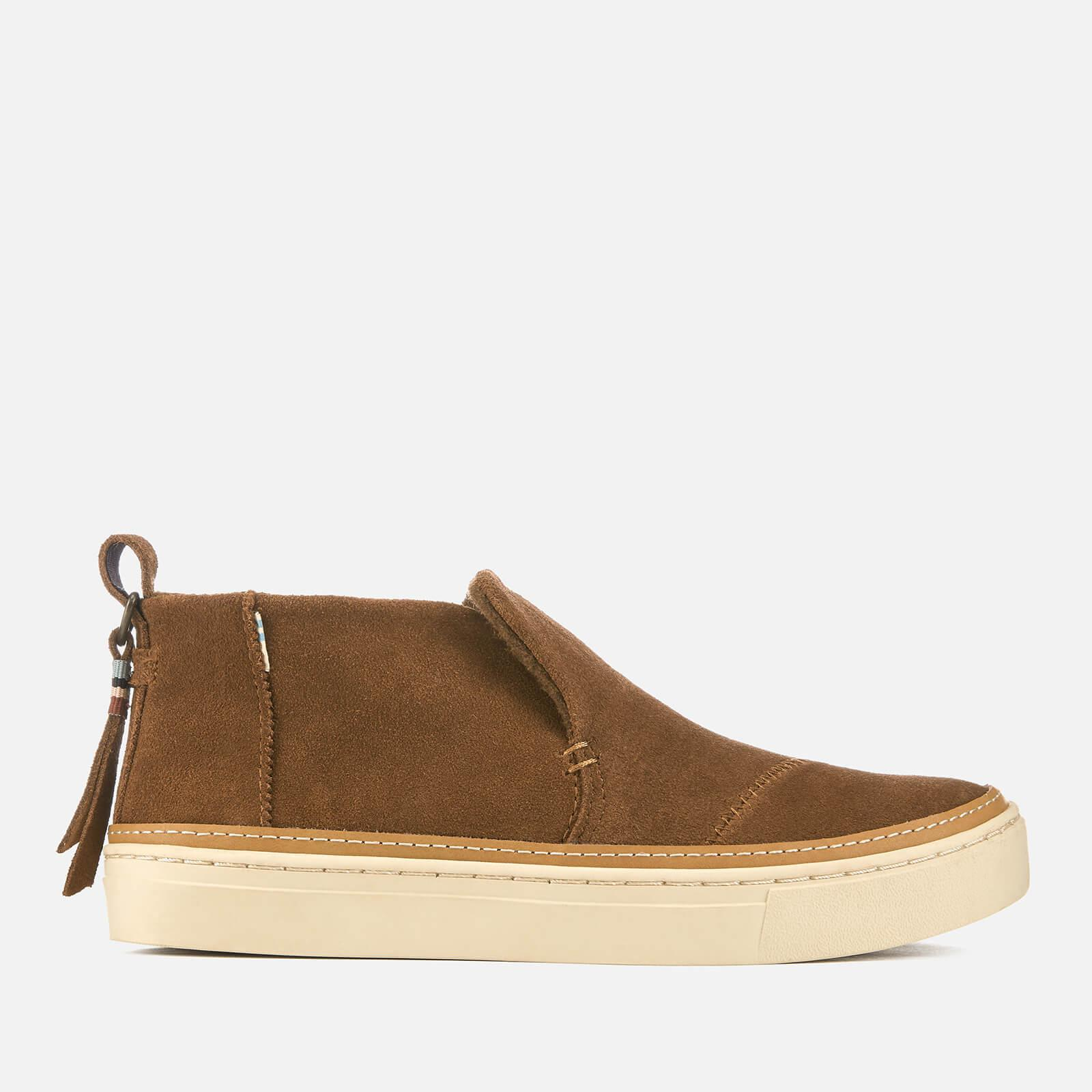 19fc208542f TOMS Paxton Suede Mid Slip On Trainers in Brown - Save 29% - Lyst