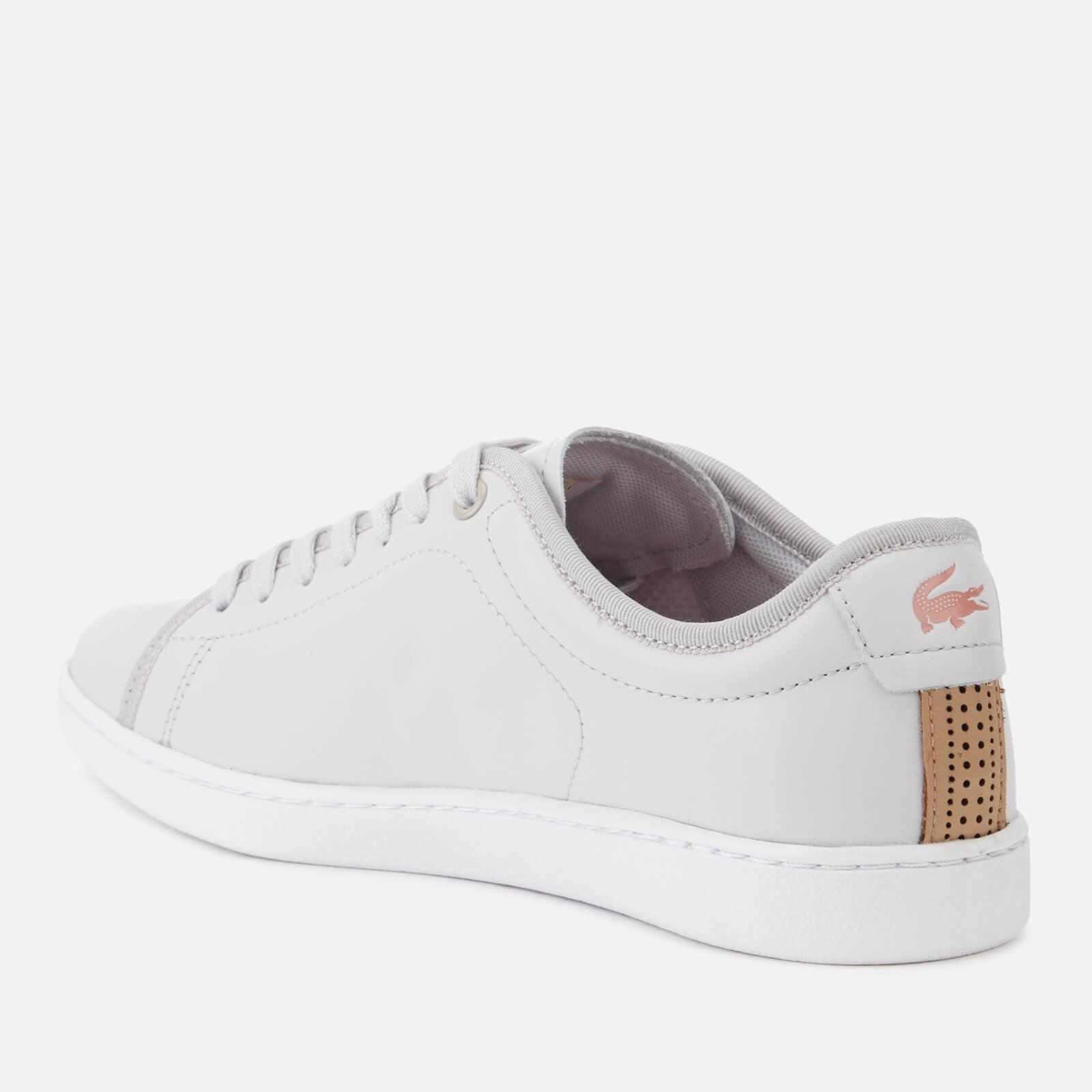 95f9200bbf21 Lacoste - Gray Carnaby Evo 318 6 Leather Trainers - Lyst. View fullscreen