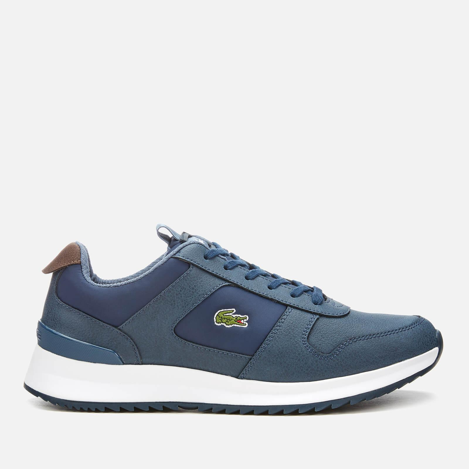 69e1cb24b3c21 Lacoste - Blue Joggeur 2.0 318 1 Textile leather Runner Style Trainers for  Men -