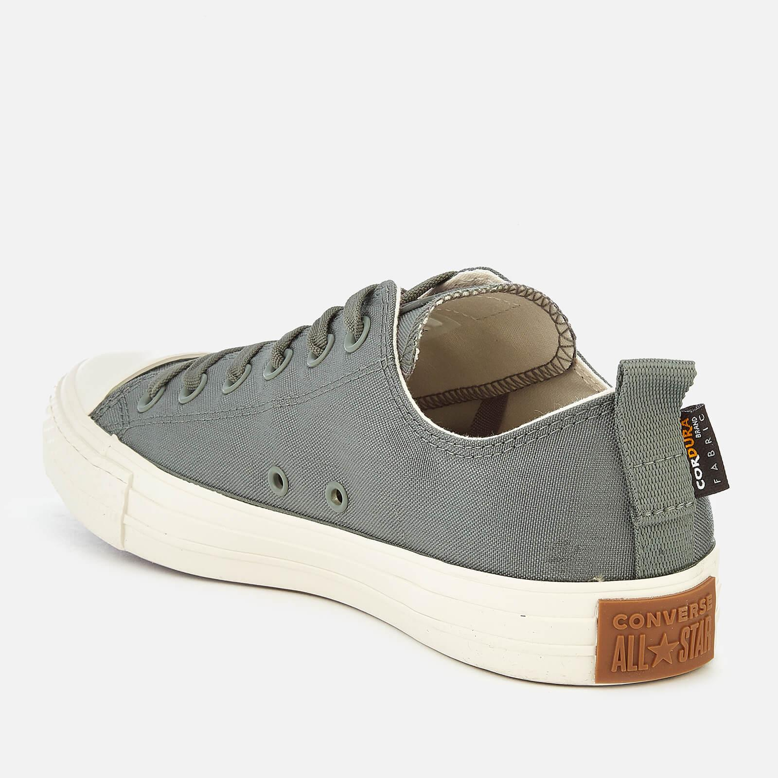 9c5240f9b54054 Converse Chuck Taylor All Star Cordura Ox Trainers in Gray for Men ...