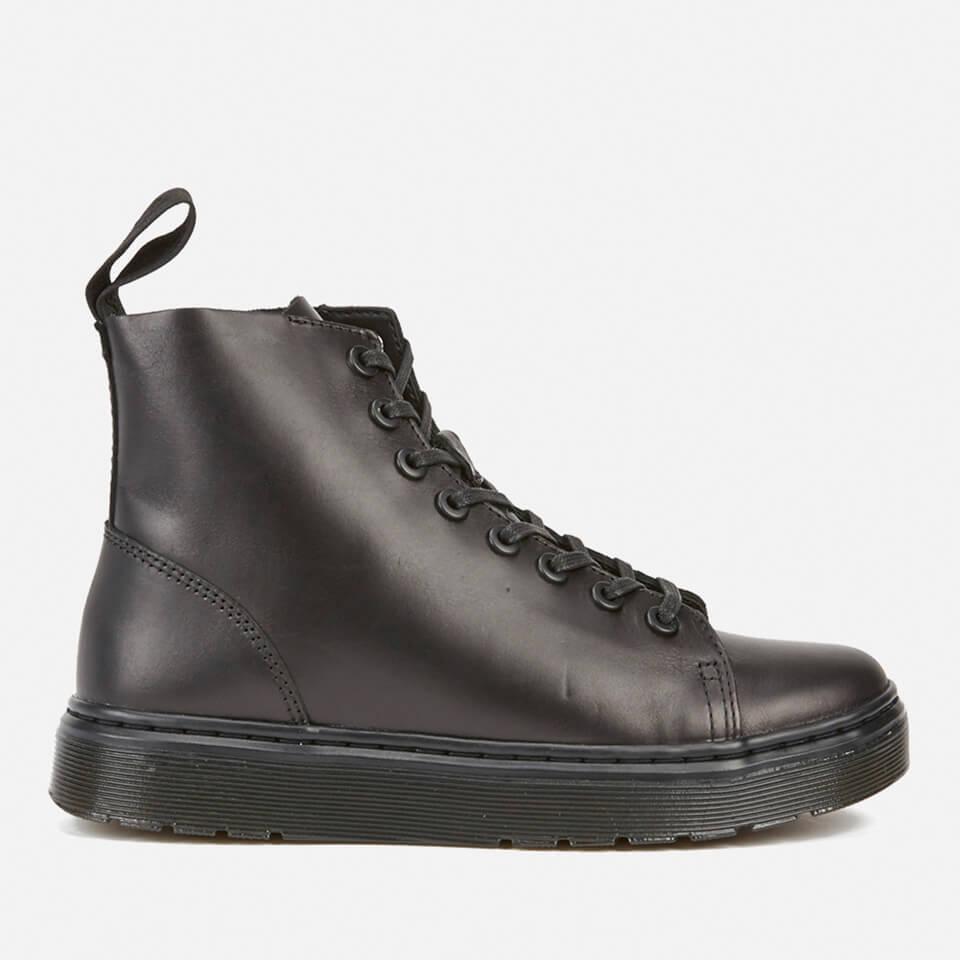 Lyst - Dr. Martens Talib 8-eye Raw Boots in Black for Men 658ada215