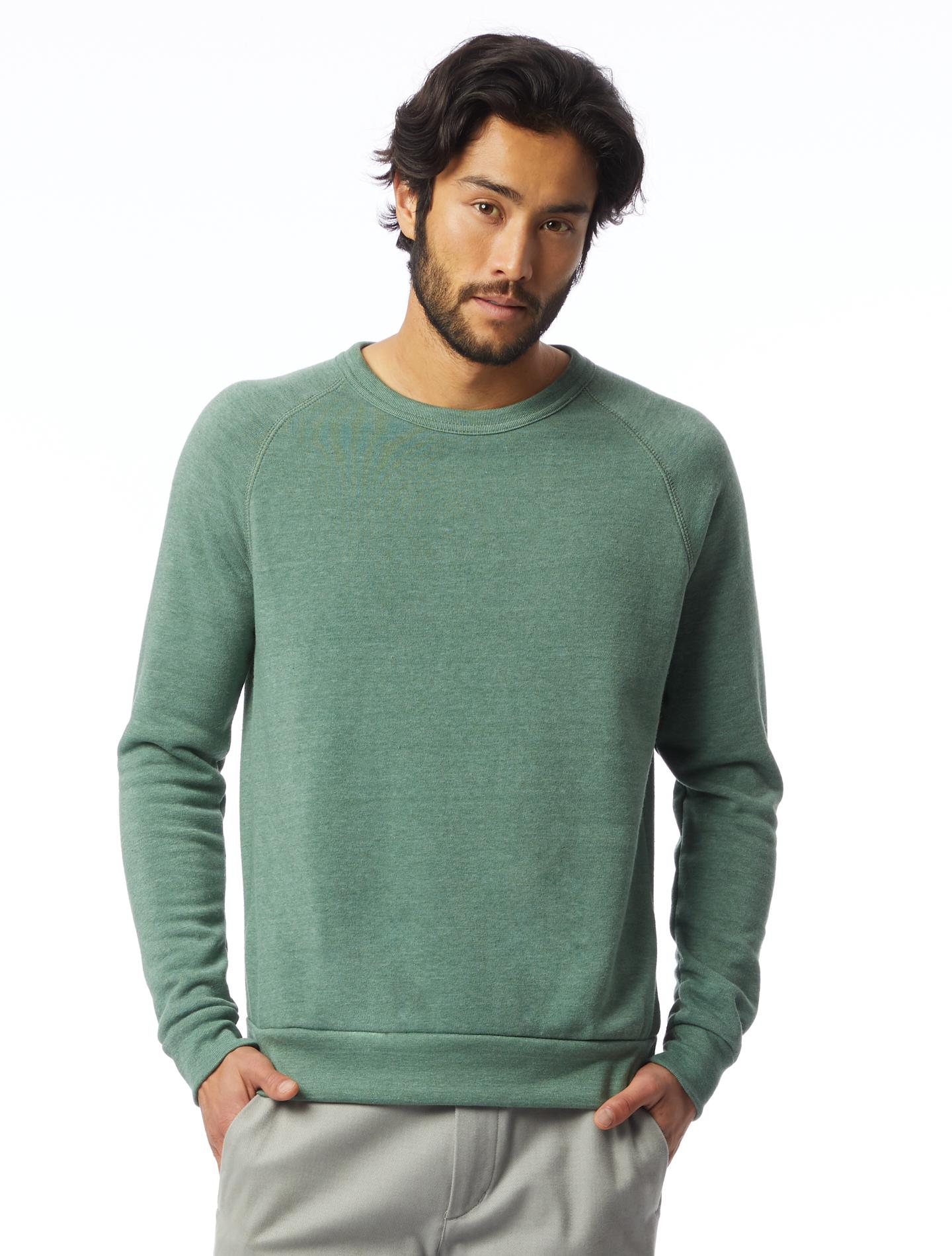951344af5ad0 Lyst - Alternative Apparel Champ Eco-fleece Sweatshirt in Green for Men