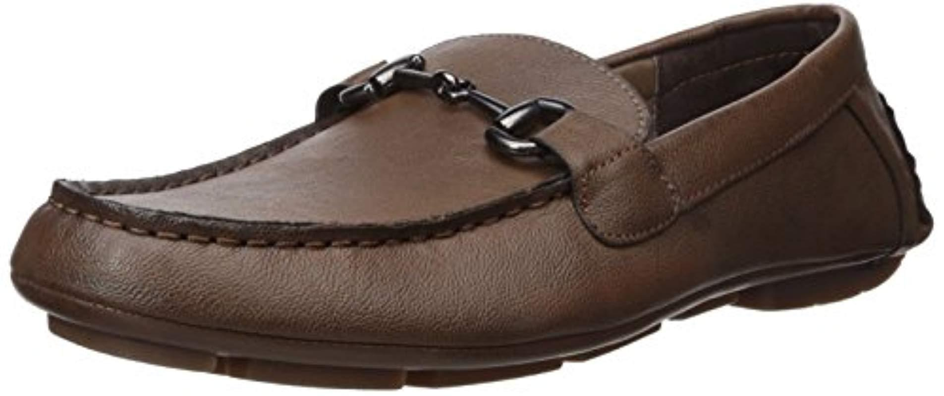 833ed0719a0 Lyst - Perry Ellis Nick Driving Style Loafer in Brown for Men - Save 4%