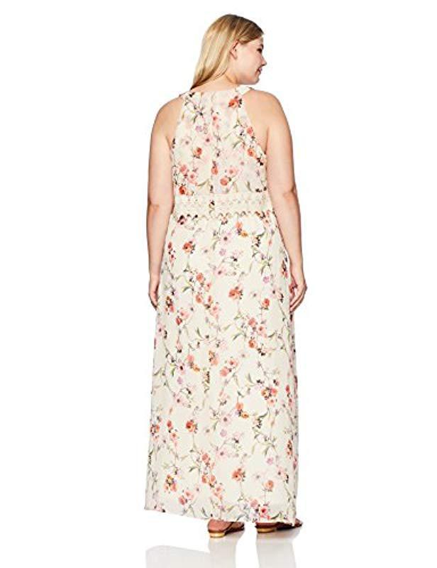 Adrianna Papell Plus Size Halter Dresses