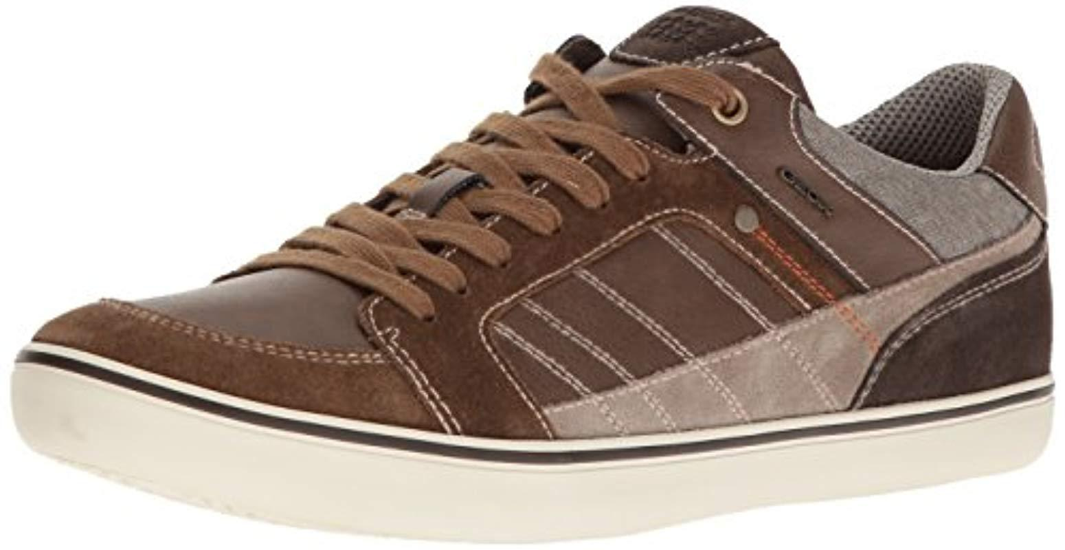 Men Save 50 For Brown Lyst Geox Fashion 0 M Box 25 In Sneaker UzVqSMGp