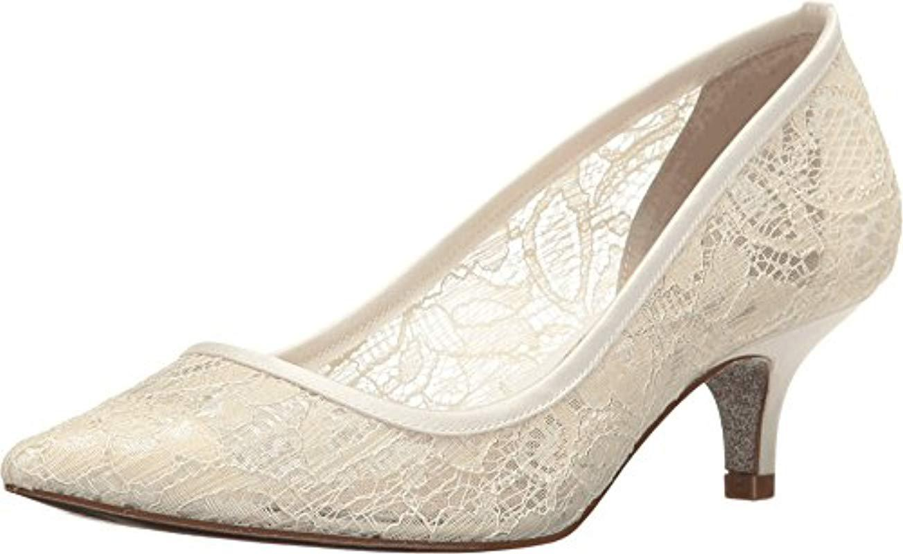 b494f1c5b1fd Lyst - Adrianna Papell Lois-lc Pump in White - Save 26.050420168067234%