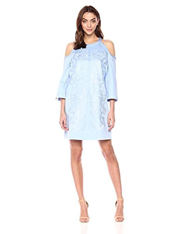 6b0567d71ff649 Lyst - Ted Baker Jettas Dress in Blue - Save 44%