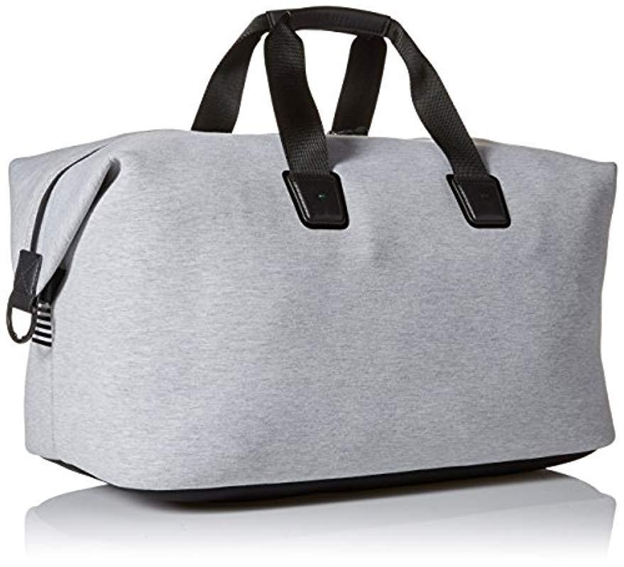 3bcfb00ba2 Lyst - BOSS Boss Green Pixel Jersey Holdall Weekender Bag in Gray ...