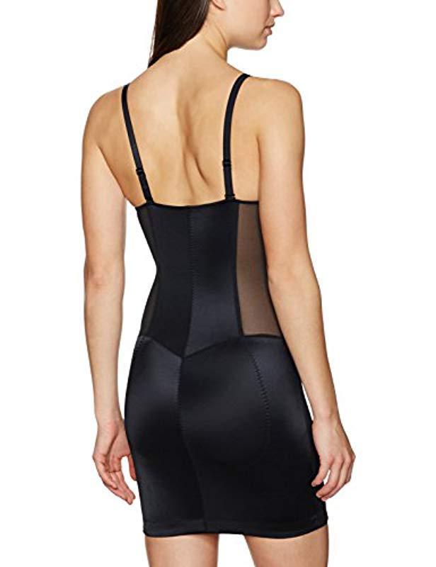 61620deb71 Lyst - Arabella Firm Control Open Bust Slip Shapewear in Black