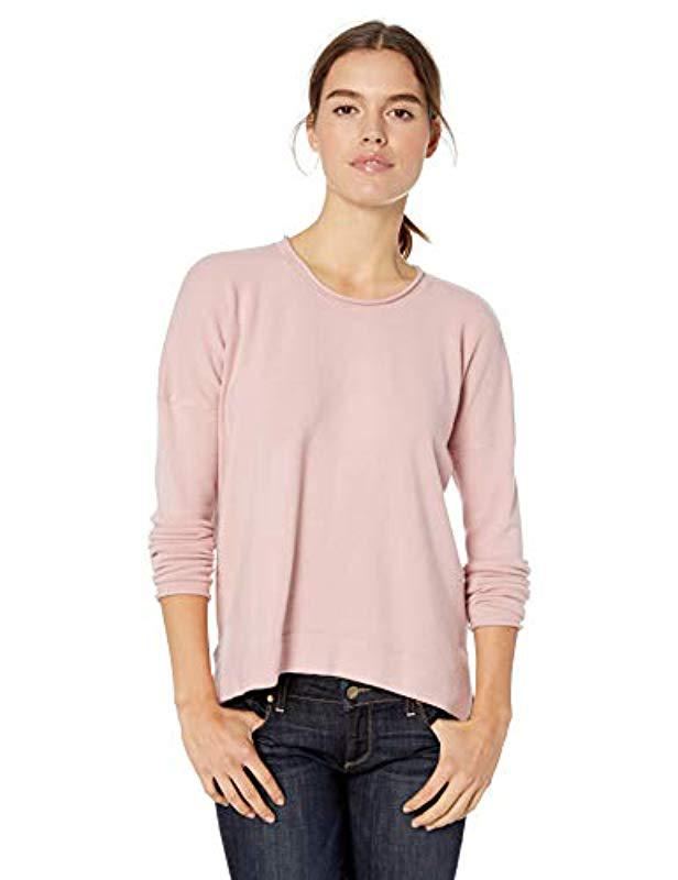 3db61141e1c French Connection. Women's Pink Babysoft Long Sleeve Soft Solid Pullover  Sweater