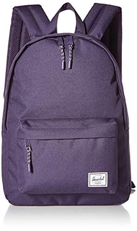 4b380a7976f Lyst - Herschel Supply Co. Classic Mid-volume Backpack in Purple for Men