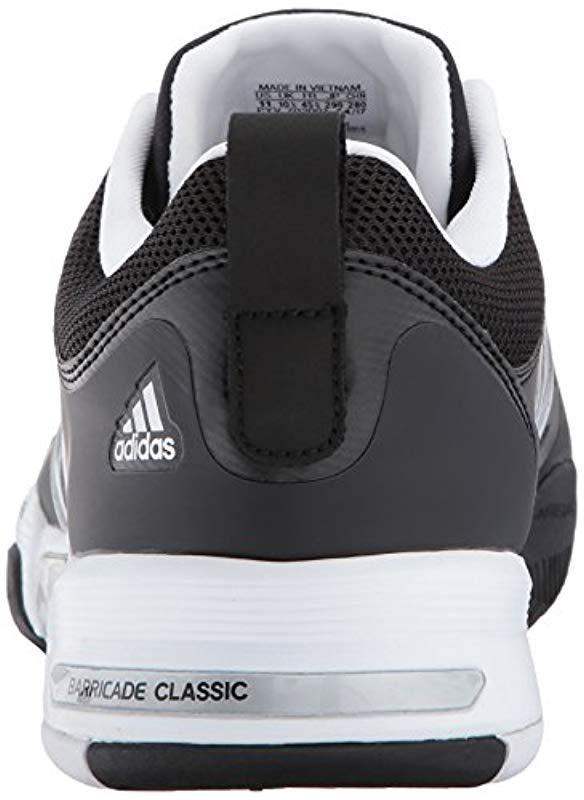 9b28af0f42e3 Adidas - Metallic Barricade Classic Wide 4e Tennis Shoe for Men - Lyst.  View fullscreen