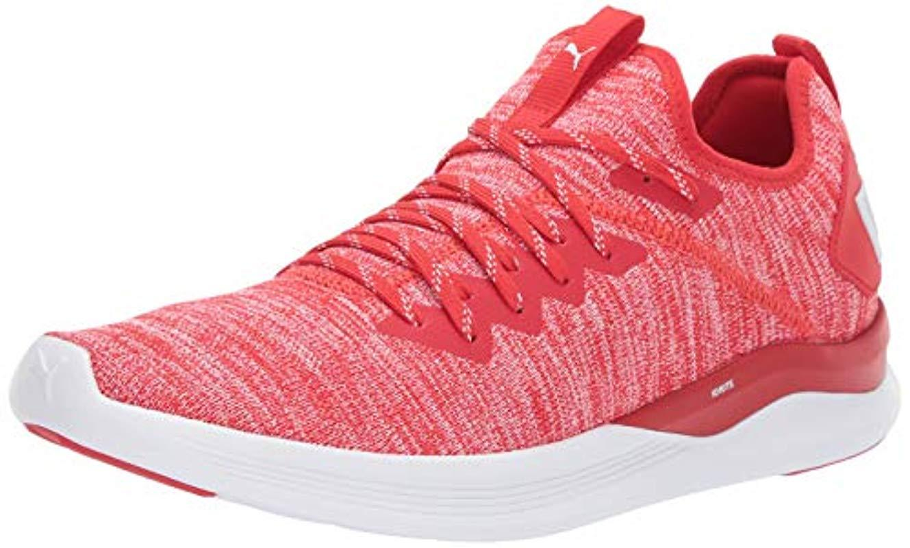 separation shoes 75c74 d6a4e PUMA Ignite Flash Evoknit in Red for Men - Save 41% - Lyst