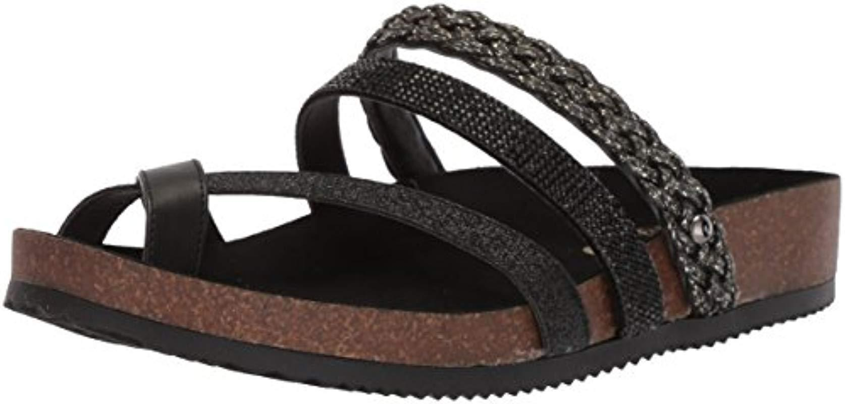 8827bbc9144a Lyst - Circus by Sam Edelman Oakley Slide Sandal in Black - Save 58%