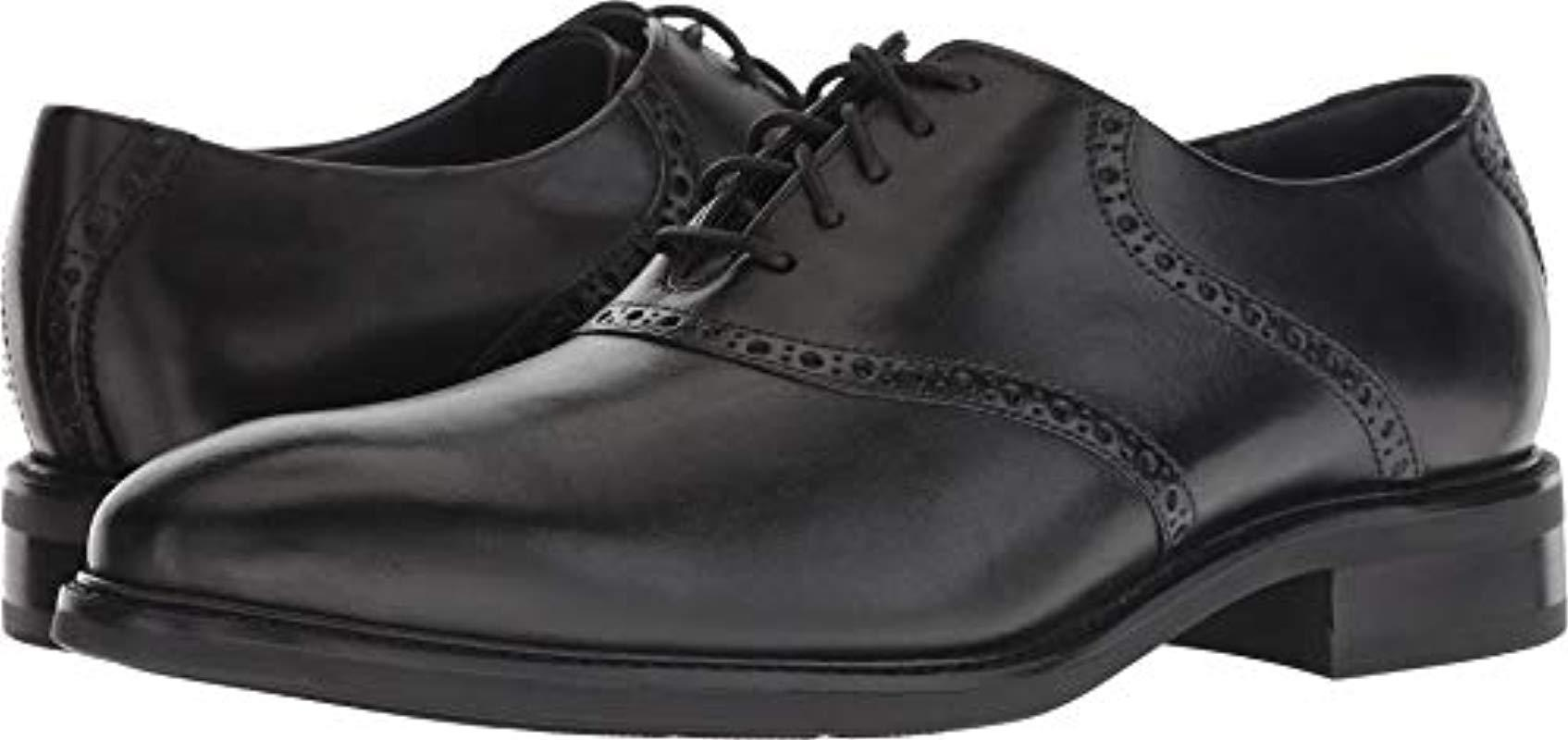 d9215ec7780 Lyst - Cole Haan Buckland Saddle Ox Oxford in Black for Men