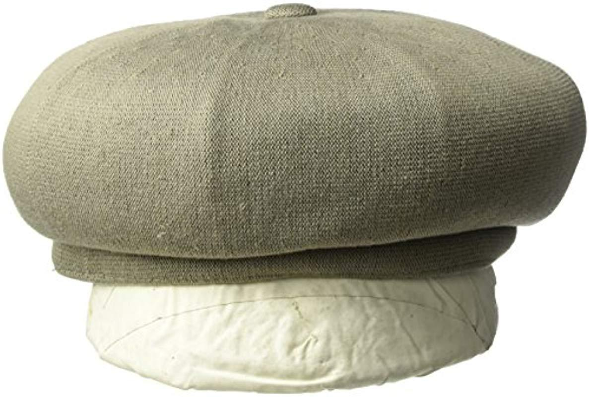 Lyst - Kangol Bamboo Jax Beret Hat in Green for Men - Save 16% c2004fa4e49