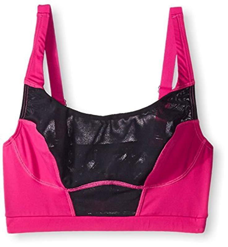 de9409560e Lyst - Cosabella Triathlon Longline Bra in Pink