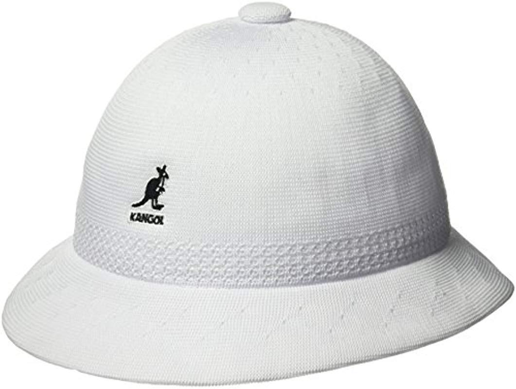 0490348cdb801f Kangol Tropic Ventair Snipe Bucket Hat in White for Men - Save 16 ...
